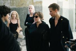 Ewa Cervena, Hedda Oledzki, Anna von Rueden, Katharina Thalbach and Elisa Lindenberg. //Photography by Katja Oortman